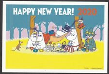 Japan new year postcard 2020 Moomin Set of 2 (jny2459-60)