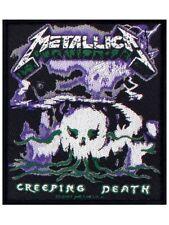 Metallica official Woven Parche Creeping Death Parche U. S. Heavy Thrash Metal