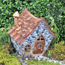 Adorable Garden Fairy House Broken Flower Pot Miniature Villa 8X5 inch
