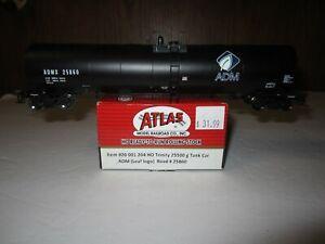 ATLAS HO Trinity 25500 gal Tank Car ADM Leaf Logo 20 001 204   #25860