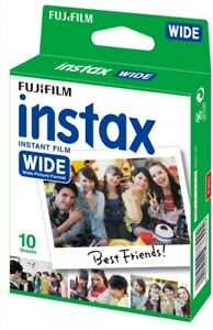 Fuji Fujifilm Instax Wide Instant Film 10 Sheet Picture Pack - Boxed - Free post