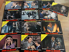 Lobby Cards Set DÄMON DES GRAUENS Horror 1974 Diana Dors Jack Palance