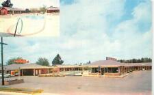SYLVANIA, GA Georgia  SYL-VA-LANE MOTEL~Restaurant ROADSIDE 1959 Chrome Postcard