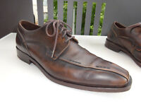 LLOYD MEDAN Herren Business Schuhe Leder Braun Germany Gr.40,5(7) TOP