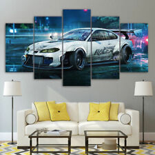 Nissan Silvia S15 Speedhunters 5 Pieces Canvas Wall Art Poster Print Home Decor