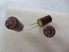 3pcs ROE EK 1000uF 6V ROEDERSTEIN  Bakelite vintage Hi-Fi Audio capacitors.NOS