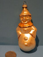 Vintage Antique Blown Glass Figural Christmas Ornament made in GERMANY Jester