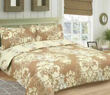 Damask Floral Reversible Single Double King Bed Duvet Quilt Cover Set New Gift