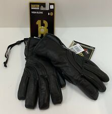 NWT Burton Snowboards Veda Black Leather Gloves