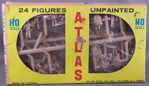 Atlas - Figures Unpainted (24/Pkg) # 792