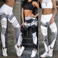 Women Leggings Fitness Sport Gym Exercise Running Jogging Yoga Pants Trouser US