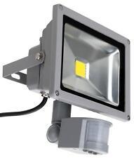 LED Aussen Fluter Flutlicht Strahler Bewegungsmelder Outdoor Wasserdicht 20W