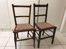 biedermeier jugend gründerzeit antik antike antiker Stuhl zwei Stühle