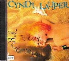 Cyndi Lauper + CD + True colors + album fantastico con 10 canzoni forti + Nuovo +