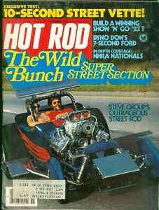 1978 Hot Rod Magazine: The Wild Bunch Super Street Section/Steve Group's Outrage