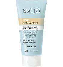 Natio Tinted Daily Repair Oil Free Moisturiser Light