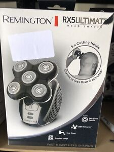 Remington RX5 Ultimate Head Shaver for Bald Men, Easy to Clean with Skin Close