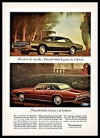 1967 FORD THUNDERBIRD 2-door Coupe and 4-door Classic Car Photo AD