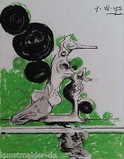 Graham SUTHERLAND (1903-1980) Original Lithographie auf Arches Bütten Paris 1972
