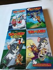 Lot Of 4 TOM & JERRY VHS TAPES