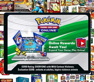 Pokemon THEME DECK / TIN / DECK Online Code Cards ~ RAPID TCG Email Codes TCGO