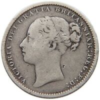 GREAT BRITAIN SHILLING 1879 VICTORIA #t82 117