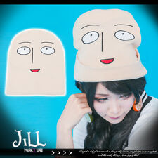 japan anime cosplay One-Punch Man Caped Baldy Saitama knit tuque hat J2F8001