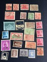 Nepal 1949-1959 Rare Stamps, Lot Of 25 Pcs, 10 Pcs Mint,16 Used