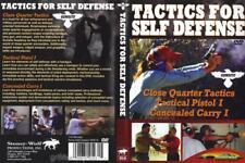 Tactics for Self Defense Gun Use Tactics Concealed Carry 3 Programs 1 DVD NEW