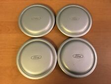 USED OEM SET OF 4 1991-1997 FORD ESCORT GREY CENTER CAPS F0C61A096BC FOR STEEL W