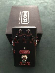 MXR analog chorus effects pedal