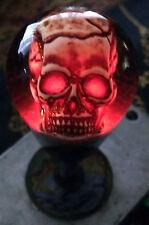 "Custom Hand Made Bat Top ""Lighted Skull"" with Skull dust cover"