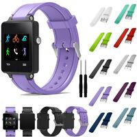 Sports Silicone Soft Bracelet Strap Watch Band For Garmin Vivoactive Acetate