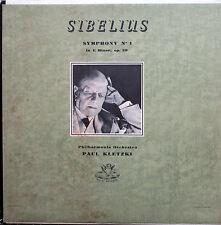 35313 Sibelius Symphony no. 1 Paul Kletzki VG/EX Angel Mono Made in Canada