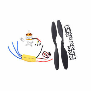 GoolRC A2212 1000KV Brushless Motor w/30A Brushless  and Pair 1045 C8Y1