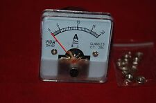 1PC AC 20A Analog Ammeter Panel AMP Current Meter 50*50mm 0-20A