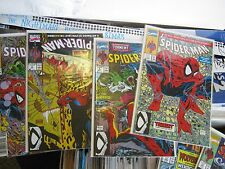 Marvel Comic Book Lot/Run 1990's series McFarlane Spider Man 1-14, 16-19 Venom