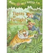 Magic Tree House 19 Tigers At Twilight by Mary Pope Osborne (Paperback, 1999)