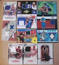 Thunder 10 card auto/jersey lot guaranteed Russel Westbrook Card in lot