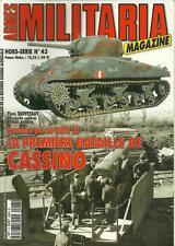 MILITARIA MAGAZINE H.S. N° 43 : LA PREMIERE BATAILLE DE CASSINO - ITALIE - 39-45