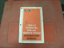 Ford Rotunda Partial Kit 1992 1/2 Essential Special Service Tool Set