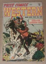 Prize Comics Western #104 (1954 Feature) 3.0...American Eagle...John Severin c/a