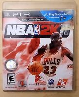 Playstation 3 NBA 2K11 - PS3 Game Complete With Manual Michael Jordan (Tested)