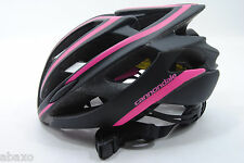Cannondale Teramo Bicycle Helmet 52-58cm Small/Medium, Black/Pink