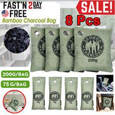 8Pcs Air Purifying Bag Purifier Nature Fresh Charcoal Bamboo Mold Freshener Bags