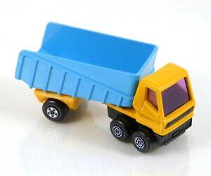 Vtg Matchbox Superfast Articulated Truck No. 50 Yellow/Blue 1973 Lesney England