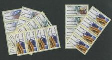All 6 SPAIN POST & GO ATM STRIPS 24 Stamps in all SPANISH Kiosk 2016 MADRID mnh