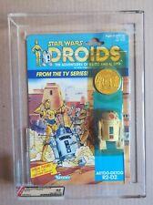 STAR WARS R2D2 Droids AFA 85% Kenner Vintage MOC