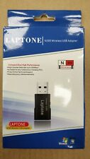 Laptone Wireless N USB Adapter - 300 Mbps High Speed Data Transfer - New!