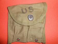 U.S.ARMY:  VIET NAM WAR 1957 -1 MAGAZINE POUCH,DOUBLE,WEB,CARBINE Cal .30 M-1